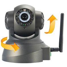 Camara Seguridad Ip Inalambrica Giratoria C/vision Nocturna! - $ 989.00