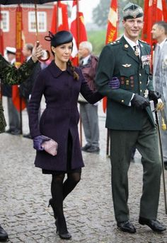Princess Marie of Denmark, very stylish