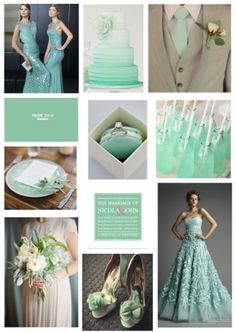 wedding ideas in hemlock #mintweddings