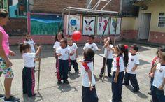 Instituciones Educativas se la juegan en el mes de la niñez