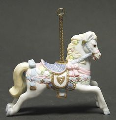 Lenox CAROUSEL ANIMAL White Horse Ornament 73803