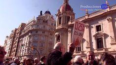 Manifestación contra la 'miserable' subida de las pensiones