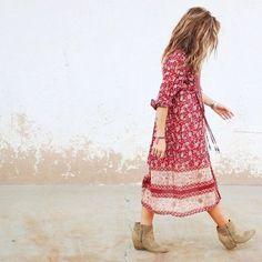 Bohemian.*╰☆╮Boho chic bohemian boho style hippy hippie chic bohème vibe gypsy fashion indie folk the 70s . ╰☆╮: