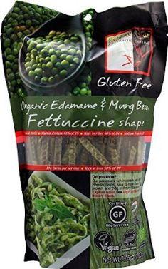 Explore Asian Fettuccini, Organic Edamame & Mung Bean, 7.05 Oz (Pack Of 6)