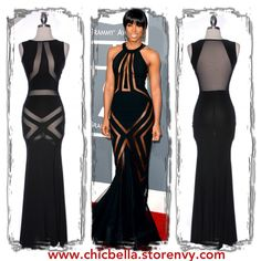 Inspired by the FAB Kelly Rowland of Destinys Child! This dress is breath taking! This ships out 4/19! Pre-order to be FIRST in line! 65.00 Wishing I had the breasts to pull this off!