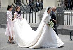 Boda de Christian de Hannover y Alessandra de Osma: todos los detalles del vestido de novia más esperado