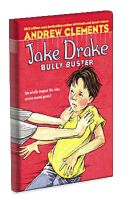 Jake Drake, Bully Buster by Andrew Clements.This story shows how Jake went from being a 'bully magnet' to a 'bully buster.' In Grade 2, Jake meets a boy called Link Baxter who exhibits bullying behaviours. Jake struggles to avoid being Link's target until one day the teacher assigns Jake and Link to work together on a class project. Through this experience Jake learns strategies to stop bullying when it happens. Full lesson plan at http://witsprogram.ca/schools/books/jake-drake-bully-buster.php
