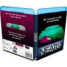 Blu-ray Case Inserts - 20 Pack for $9.95