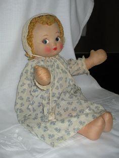 1940 Effanbee Cloth Doll