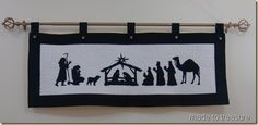 Playing with silhouettes….to make a nativity scene | Made To Treasure