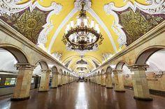 Metro de Moscú.    ------© Lopatin / shutterstock.com