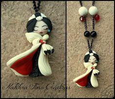 Cruella De Ville Disney Villains Designer Collection by Nakihra Fimo Creations, via Flickr
