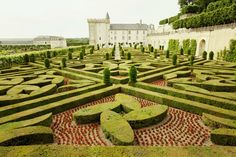 castles of Chambord, Villandry and Chenonceau in the Loire via ECLECchic