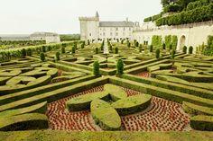 castles of Chambord, Villandry and Chenonceau in the Loire via ECLECchic