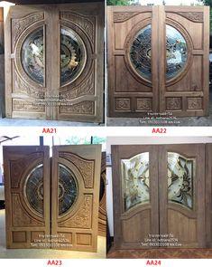 Modern Glass, Glass Design, Wood Doors, New Homes, Interior, House, Home Decor, Main Entrance Door, Front Entrances