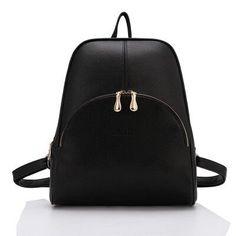2015 New Casual Women Backpack Female PU Leather Women's Backpacks Bagpack Bags Travel Bag back pack Free Shipping
