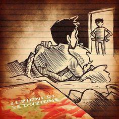 Dallo storyboard a fumetti della puntata di oggi di #ovunque6estate @rairadio2…