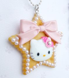 Hello Kitty Star Kawaii necklace littlemaikoboutique