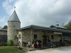 Dry Comal Creek Vineyards and Winery in New Braunfels, Texas. I have yet to visit but their Cabernet Sauvignon is incredibly silky with a wickedly smokey finish. Try some if you like Cabernets.