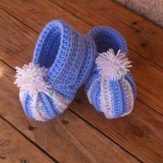 Chaussons citrouille bébé crochet facile