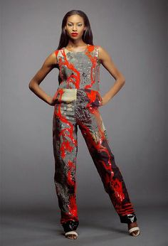African Prints in Fashion: Colour Storm by Lanre Da Silva Ajayi