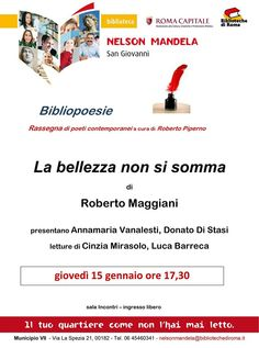 Ultima chiamata per il 15 gennaio, comunicazione di Roberto Maggiani [Eventi] :: LaRecherche.it