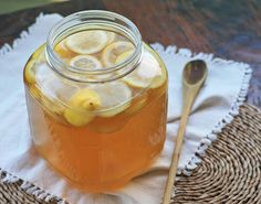 Home Brewed Sima (Finnish fermented lemon drink) I'm gonna try this, but I might substitute whey for the yeast. Meyer Lemon Recipes, Finnish Recipes, Pear Cider, Lemon Drink, Lemon Beer, Girl Cooking, What's Cooking, Cooking Ideas, Homemade Wine