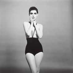 Peggy Moffitt modeled Gernreich's bikini (fitted with suspenders but no top) in Women's Wear Daily in June 1964. Though string swimsuits were on their way to mainstream acceptance, the Pope banned this topless version in Italy, and the mayor of St.-Tropez declared he'd patrol the beach with helicopters. But this was just the beginning for bralessness. Pretty soon, the rebels would burn 'em.    Photo: WILLIAM CLAXTON/Courtesy of Demont Photo Management