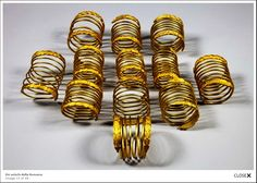 Dacian Gold Bracelets - Romanian History and Culture