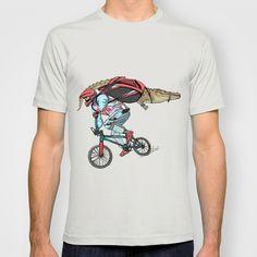 """Extream biker"" T-Shirt by Wonman Kim on Society6."