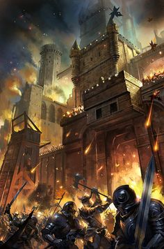 medieval kingdoms in europe Fantasy Battle, Fantasy Warrior, Fantasy Rpg, Medieval Fantasy, Fantasy World, Dark Fantasy, Fantasy Life, Fantasy Artwork, Dungeons And Dragons