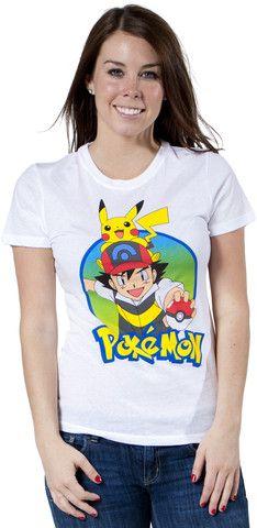 Pikachu And Ash Pokemon Shirt