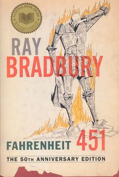 """Fahrenheit 451 Teaching Resources, including Ray Bradbury """"How I fell in love with books"""" video Fiction Books To Read, 100 Books To Read, Books You Should Read, 100 Best Books, Good Books, The Big Read, High School Reading, Fahrenheit 451, American Literature"""
