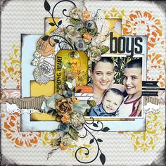 BAP layout by Janine Koczwara for Prima! http://prima.typepad.com/prima/2013/05/mays-bap-ppp.html