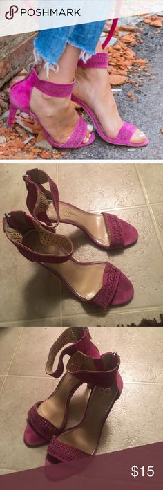 💖Jessica Simpson ankle strap shoe 💕Jessica Simpson ankle strap shoe! Good condition. Jessica Simpson Shoes Heels