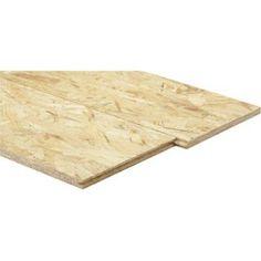 Panneau osb 3 3 plis épicéa naturel, Ep.9 mm x L.250 x l.125 cm | Leroy Merlin