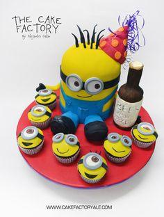 minion cake despicable me