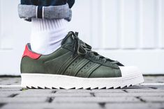 adidas take the Shelltoe to new heights with the mountain climbing Superstar 80s TR.