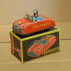 hungarian tin toy