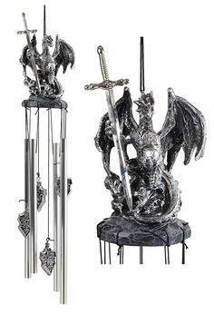 Large Hoarfrost Twilight Dragon Guarding LED Light Crystal Elements St– Ebros Gift Water Dragon, Blue Dragon, Silver Dragon, Dragon Armor, Battery Operated Led Lights, Fantasy Dragon, Collectible Figurines, Dungeons And Dragons, Wind Chimes