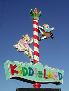 Kiddieland (Melrose Park, IL) at one time, one of my favorite places on earth! Ohh the memories I have of this place. Too bad it no longer exists.