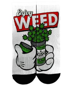 Enjoy Weed Socks http://amzn.to/2sGzuOr