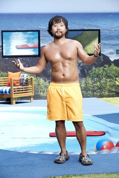 Big Brother 17 backyard picture of James Huling.