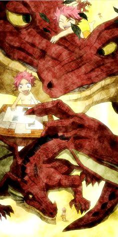 Fairy Tail Natsu and Igneel