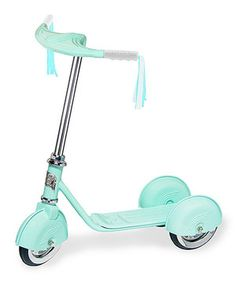 Another great find on #zulily! Aqua Retro Personalized Scooter by Morgan Cycle #zulilyfinds
