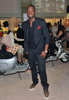 Dwayne Wade Fashion Week 13