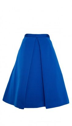 Our signature skirt gets a bold update in on-trend cobalt blue. Wear the Katia Faille Full Skirt with a button-down or crop top for a number of stylish outfit options.