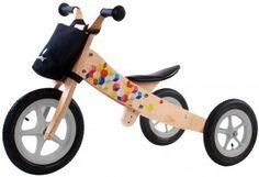 Rowerek biegowy drewniany 2w1 Twist Cubic Tricycle, Skateboard, Babe, Sun, Skateboards