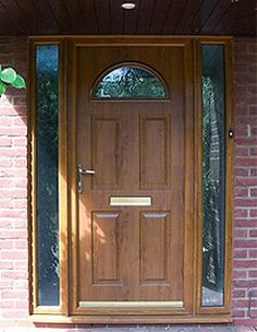 wooden front doors with side panels - Google Search & Safestyle Doors Product Bodycomposite 005 | Ideas for the House ... Pezcame.Com