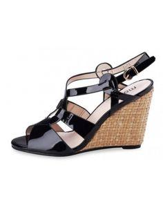 timeless design bd224 3a8f9 Sandales brides compensées, avec ces talon de 10cm soyez la plus belle pour  cette été